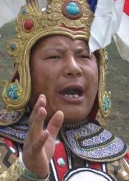 Gesar Storyteller (格萨尔王说唱艺人)