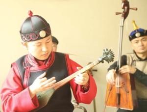 Mongolian Music Map